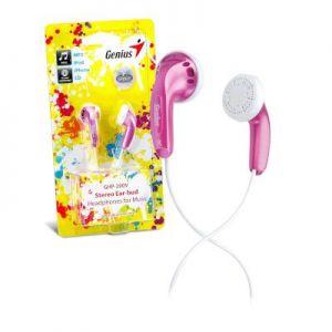 Microphone/Headphone Genius GHP-200V Pink