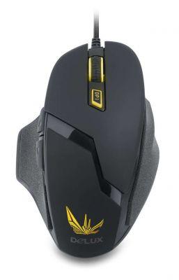 Мишка DELUX DLM-612BU USB