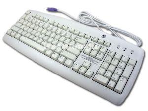 Клавиатура Logitech Value White  PS/2