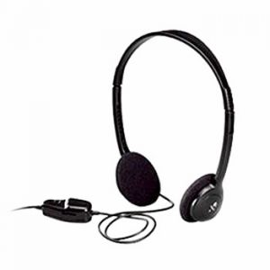 Слушалки Logitech Dialog-220 Black Stereo Headphone