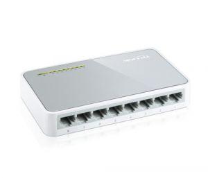 Комутатор  TP-LINK TL-SF1008D  8-порта 10/100Mbps