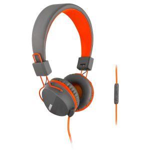 Слушалки с микрофон Turbo-X  Funky House Orange