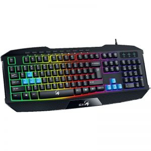 Клавиатура Genius K215 Scorpion Gaming Black color LED backlight
