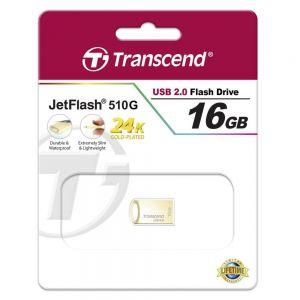 Памет Transcend 16GB JETFLASH 510 Gold Plating