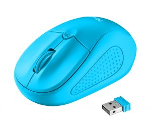 Мишка TRUST Primo Wireless Mouse - Blue