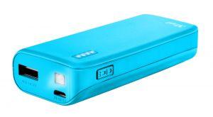 Зарядно устройство TRUST Primo Power Bank 4400 Portable Charger - Blue