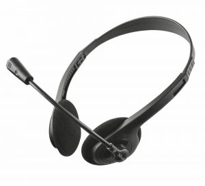 Слушалки TRUST Headset Ziva Chat headset