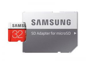 Памет Samsung 32GB micro SD Card EVO