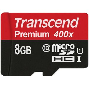 Памет Transcend 8GB micro SDHC UHS-I Premium (No Box & Adapter, Class 10)
