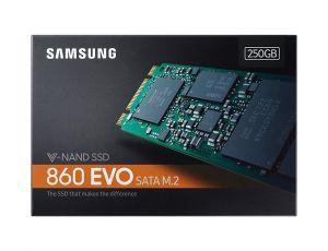 Твърд диск Samsung SSD 860 EVO M2 250GB