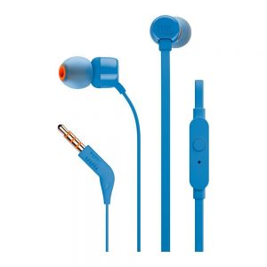 Слушалки JBL T110 BLU In-ear headphones