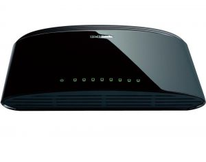 Комутатор D-Link 8-Port 10/100Mbps Fast Ethernet Unmanaged Switch