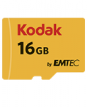 Памет KODAK microSDHC 16GB Class10 U1 w/adapter