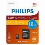 Памет 16GB Philips MicroSDHS card